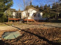 septic tank finished